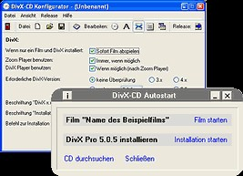 .avi-CD Autostart 1.2.0 screenshot