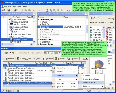 .rpt Inspector Enterprise Suite for Crystal Enterp 3.12 screenshot
