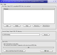 007 DVD Author Free 2.97 screenshot