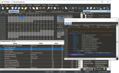 010 Editor 11.0 screenshot