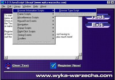 1-2-3 JavaScript Library 2.5 screenshot