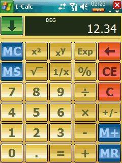 1-Calc v3.2.7 screenshot