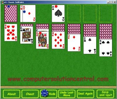 #1 Classic Solitaire 2.00 screenshot