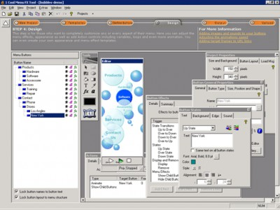 1 Cool Menu FX Tool - Java 1.4 screenshot