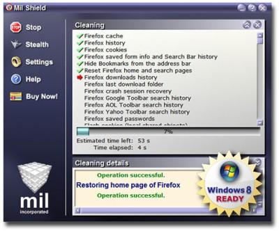 1 Mil Shield 8.1 screenshot