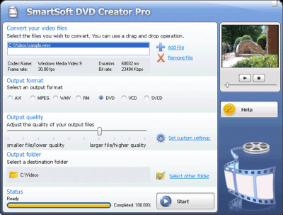 #1 Smart DVD Creator 10.6 screenshot
