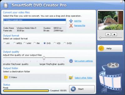 #1 Smart DVD Creator 15.11 screenshot
