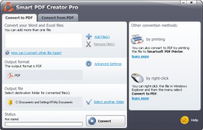 #1 Smart PDF Creator 14.5 screenshot