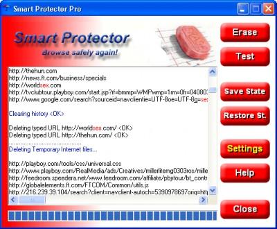 #1 Smart Protector - Internet Eraser 4.12 screenshot