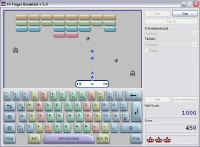 10 Finger BreakOut 5.0.15.200 screenshot