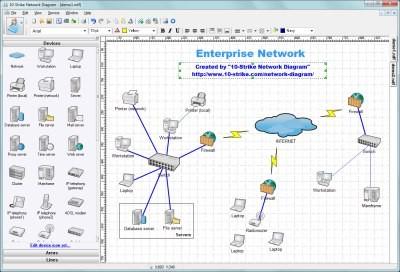 10-Strike Network Diagram 2.9 screenshot