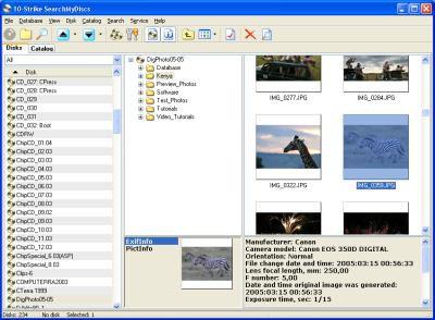 10-Strike SearchMyDiscs 4.42 screenshot