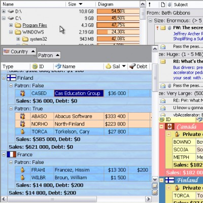 10Tec iGrid.NET 1.70 screenshot
