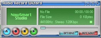 123 Audio Record Wizard 2.1 screenshot