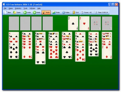 123 Free Solitaire - Card Games Suite 5.50 screenshot