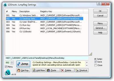 12Ghosts JumpReg 9.70 screenshot