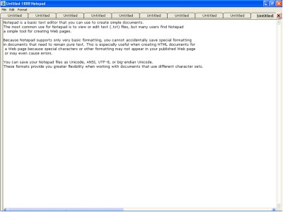 1888 Notepad Editor Plus 1 screenshot