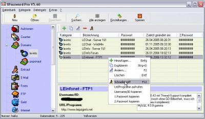 1Password Pro 5.107 screenshot