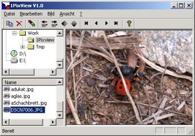 1PixView 1.09 screenshot