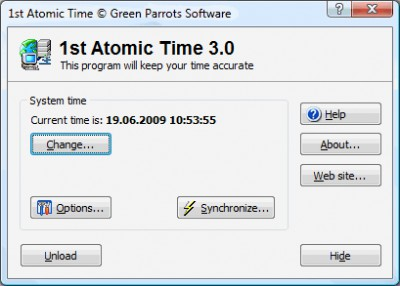 1st Atomic Time 3.0 screenshot