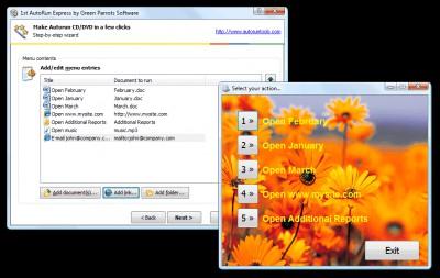 1st Autorun Express 3.2 screenshot