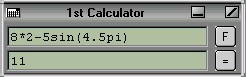 1st Calculator 1.15 screenshot
