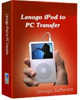1st Lenogo iPod to PC Transfer 4.0 screenshot