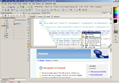 1st Page 2006 3.00 screenshot