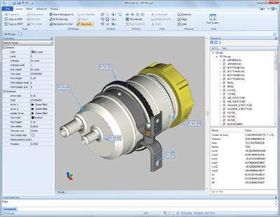 2D/3D cad: dwg, dxf, plt, cgm, pdf, svg 12 screenshot