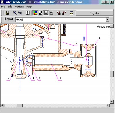 2D CAD View Plugin for Total Commander 5 screenshot