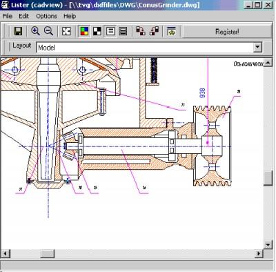 2D CAD View Plugin for Total Commander 5 screenshot