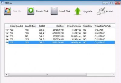 2Tware Virtual Disk 2011 Free 5.0.4.5 screenshot