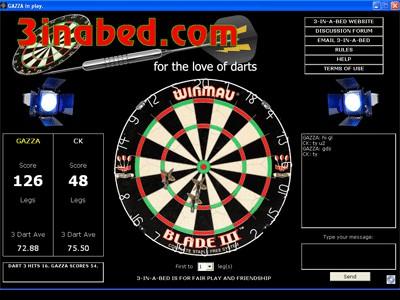 3-IN-A-BED WORLD DARTS 16.0 screenshot