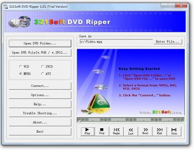 321 Convert DVD 1.0214.16 screenshot