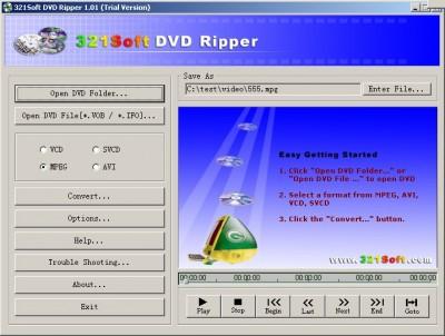 321 DVD Ripper 1.029.03 screenshot