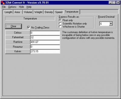32bit Convert It 16.08.01 screenshot