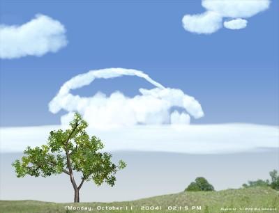 3D Amazing Clouds Screen Saver 1.0 screenshot