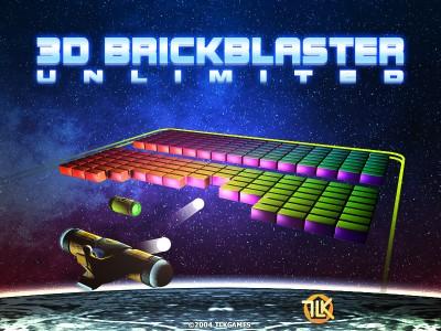 3D BrickBlaster Unlimited 2.4 screenshot