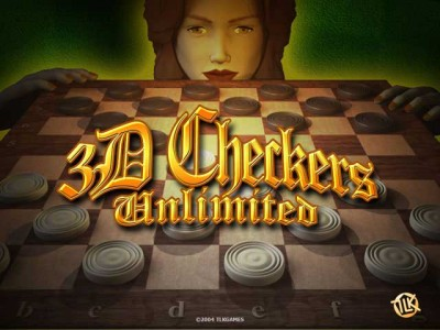 3D Checkers Unlimited 2.4 screenshot