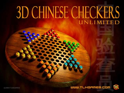3D Chinese Checkers Unlimited 1.0 screenshot