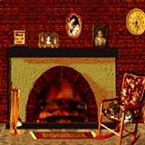 3D Cozy Winter Fireplace 1.0 screenshot