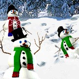 3D Dancing Snowmen 1.0 screenshot