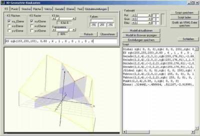 3D Geometrie-Baukasten 1.2 screenshot