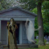 3D Ghosts in the Graveyard 1.0 screenshot