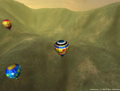 3D Hot Air Balloon Screen Saver 1.1 screenshot