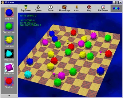 3D Lines 1.1 screenshot