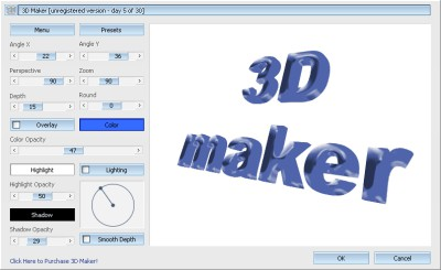 3D Maker 1.2 screenshot