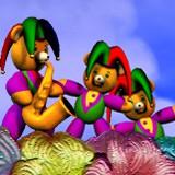 3D Mardi Gras Teddy Bears 1.0 screenshot