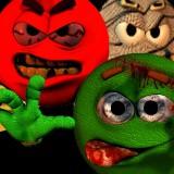 3D Monster Smiley Guys 1.0 screenshot