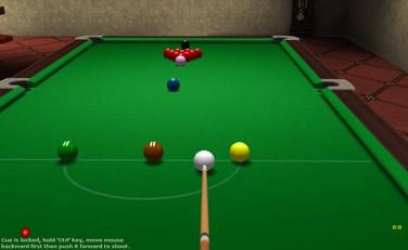 3D Online Snooker 1.394 screenshot